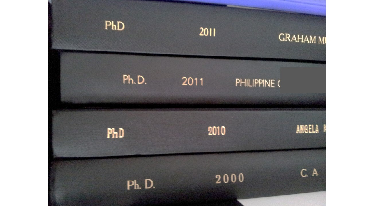 thesis for university Your thesis committee and topic must be approved by the graduate school before you begin your research and writing the thesis topic approval form includes a description of your project and formally establishes your committee.